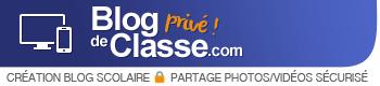 Blog de classe privé