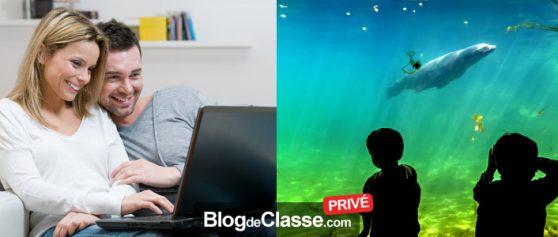 Créer un blog de centre loisirs seulement accessible aux parents