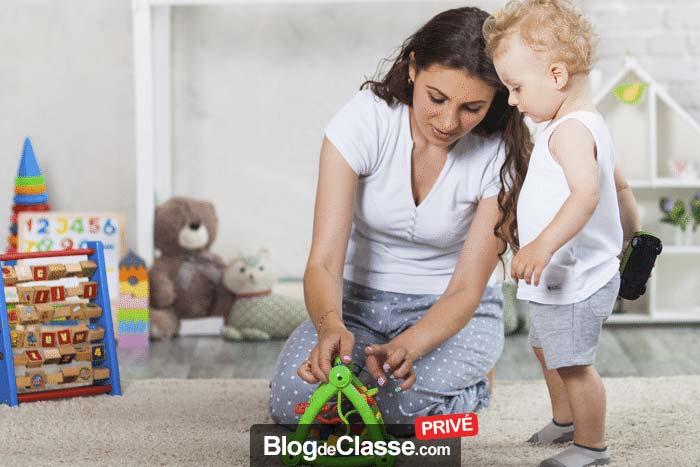 Les enfants disposent de jeux de société afin qu'ils développent leur sens de la compétition de manière ludique. Ils apprennent en plus à respecter les règles.